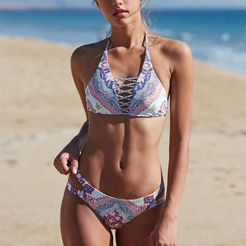 Billabong Luv Lost Strappy Cropped Bikini Top at PacSun.com