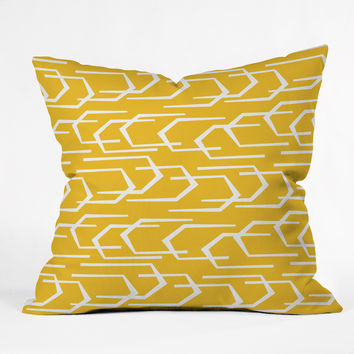 Heather Dutton Going Places Sunkissed Outdoor Throw Pillow