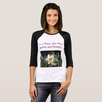 Mom Flower T-Shirt