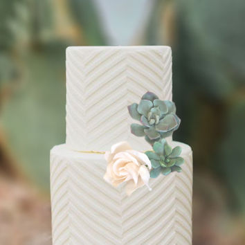 Wedding Cake Topper, Sugar Flowers, Gumpaste Flowers, Succulents Cake, Sugar Rose, Sugar Succulents. Birthday Cake,