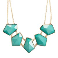 Bold Geo Short-Strand Necklace
