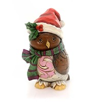 Jim Shore Owl Be Home Figurine Christmas Figurine