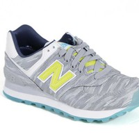 New Balance Shoes for Women 574 Summer Waves WL574SIA