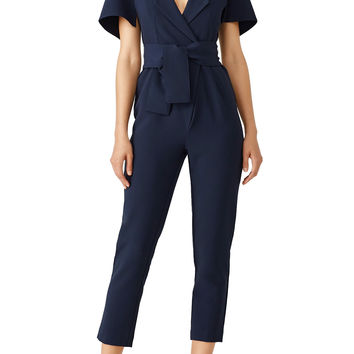 The Fifth Label Navy Manhattan Jumpsuit
