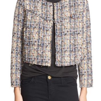 IRO 'Hella' Tweed Crop Jacket | Nordstrom