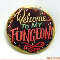 Wreck it Ralph Inspired  Welcome To My Fungeon  2 by PeppersPins