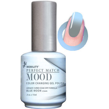 LeChat Perfect Match Mood Gel - Blue Moon 0.5 oz - #MPMG12