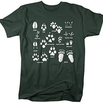 Shirts By Sarah Men's Animal Tracks T-Shirt Hunting Shirts Hunter Season