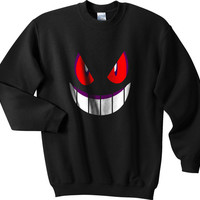 Pokemon Gengar Unisex Sweatshirt S to 3XL