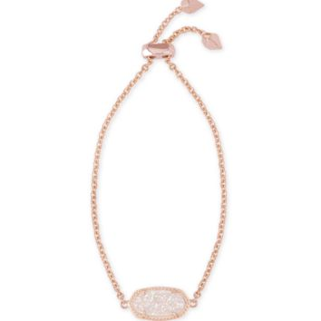 Elaina Rose Gold Chain Bracelet in Iridescent | Kendra Scott