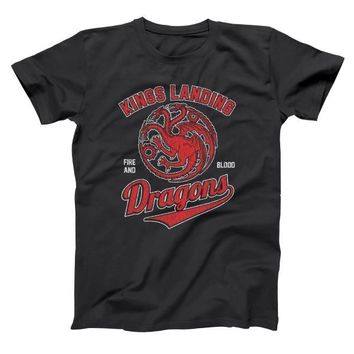 Game of Thrones The Kings Landing Dragons Men's T-Shirt