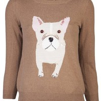 Muveil Sequined Puppy Sweater - H. Lorenzo - farfetch.com