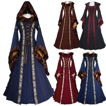 Women's Renaissance Dress  Medieval Maiden - Free Shipping