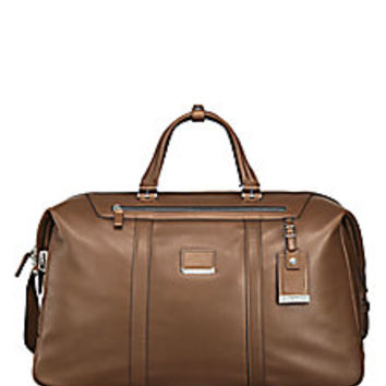 Tumi - Astor San Remo Leather Duffel - Saks Fifth Avenue Mobile