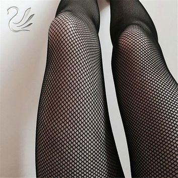 Sexy Mesh Fishnet Pantyhose 2019 New Spring Summer Black Red Slim Fishnet Tights