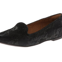 Clarks Valley Lounge Flat Shoes Black