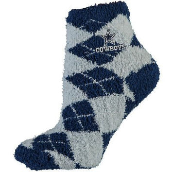 Dallas Cowboys Argyle Sleep Socks