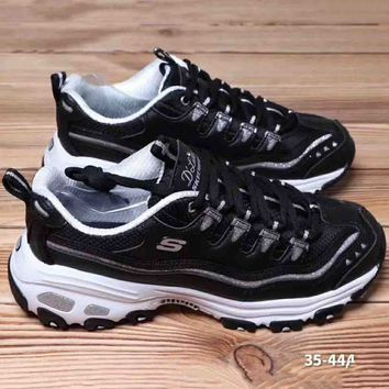 Skechere Air Cooled Fashion Casual Running Sports Sneakers Shoes Black G-A36H-MY
