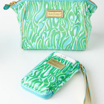 Lilly Pulitzer Finders Keepers Smartphone Wristlet & Cosmetic Bag