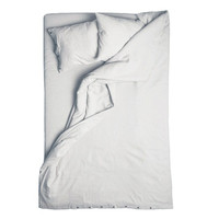 Linen duvet cover Dove grey Double 200x200cm by LOVELY HOME IDEA