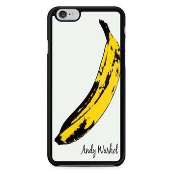 Andy Warhol Banana Painting iPhone 6/6S Case