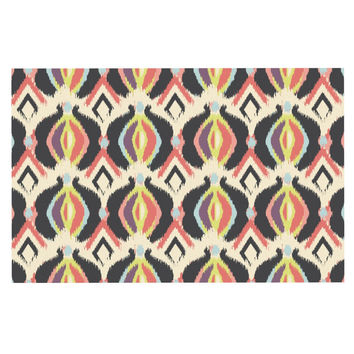 "Amanda Lane ""Bohemian iKat"" Decorative Door Mat"