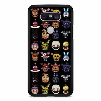 Five Nights At Freddy Pixel Art Characters LG G5 Case