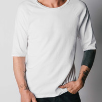 imogene + willie · white knit raglan