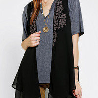 Urban Outfitters - Ecote Double-Layer Embroidered Vest