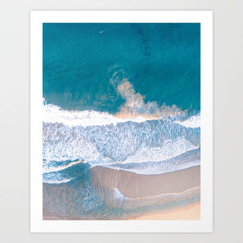 Sea love #society6 Art Print by designerkanchan