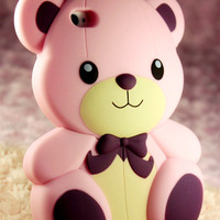 Lovely! Teddy Bear iPhone 4/4s Case from WANDERLUSTINY