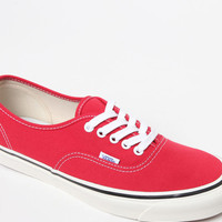 Vans Anaheim Factory Authentic 44 DX Red Shoes at PacSun.com