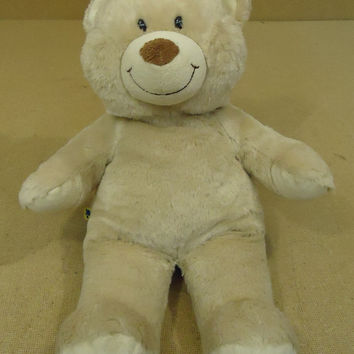 Build-A-Bear Cream Color Bear Stuffed Animal 1004744 * Fabric * -- Used