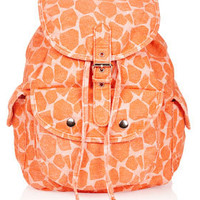 Denim Giraffe Backpack - Bags & Wallets  - Bags & Accessories