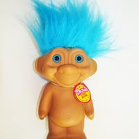 Vintage 1991 Troll Coin Bank