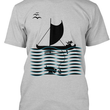 Voyager Men's Outrigger Canoe Fishing Shirt