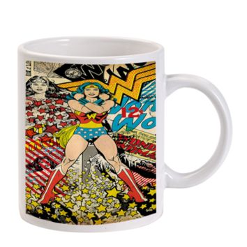 Gift Mugs | Wonder Woman Superhero Ceramic Coffee Mugs