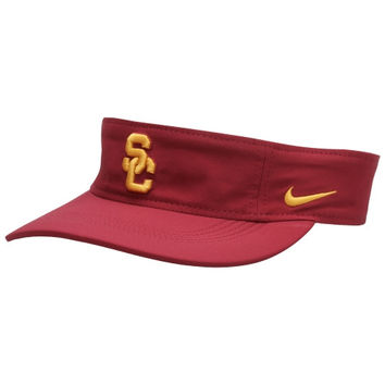 USC Trojans Nike Performance Training Visor – Cardinal
