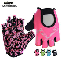 Queshark Body Building Fitness Gloves Sports Weight Lifting Gloves Gym Training Exercise Gloves Slip-Resistant for Men & Women