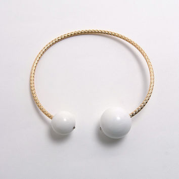 Beauty Pops Necklace White