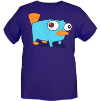Disney Phineas And Ferb Perry The Platypus T-Shirt