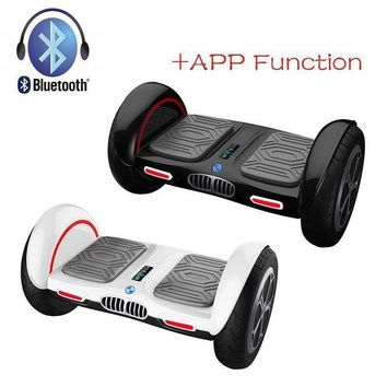 CREYON iscooter new 10 inch hoverboard bluetooth and app giroskuter 2 wheel self balancing gyroscooter hover board two wheel oxboard