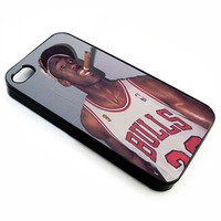 Michael Jordan Cigar | iPhone 4/4s 5 5s 5c 6 6+ Case | Samsung Galaxy s3 s4 s5 s6 Case |