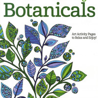 Creative Coloring Botanicals Adult Coloring Book by Valentina Harper