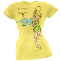 Disney - Tink Lore Juniors T-Shirt