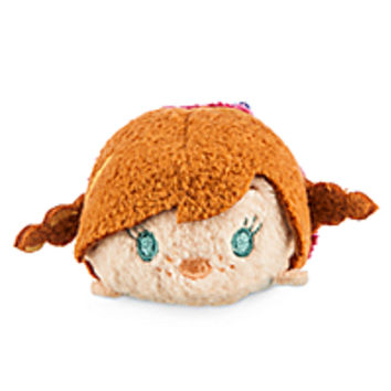 Anna ''Tsum Tsum'' Plush - Frozen - Mini - 3 1/2''