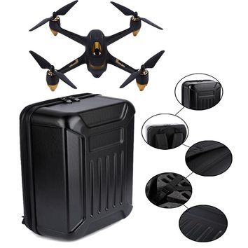 Black ABS Hard Shell Backpack Case Bag for Hubsan X4 H501S Quadcopter RC toy supplies