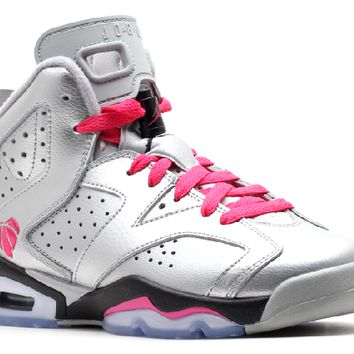 Ready Stock Nike Air Jordan 6 Retro Gg (gs) Valentines Day Basketball Sport Shoes
