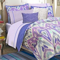 Teen Vogue Bedding, Ikat Stripe Full Sheet Set - Teen Bedding - Bed & Bath - Macy's