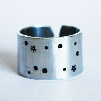 gemini constellation ring, constellation ring, gemini ring